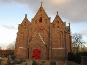 Periodieke deformatiemetingen voor kerk